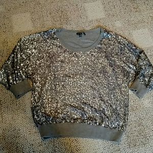 Dkny sequin sweater